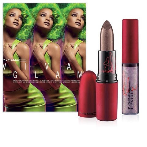 NOUVELLE COLLECTION VIVA GLAM POUR MAC
