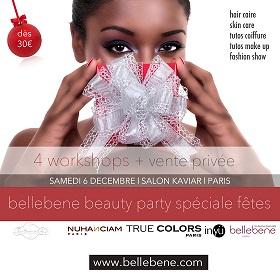 BELLEBENE BEAUTY PARTY /  JEU CONCOURS