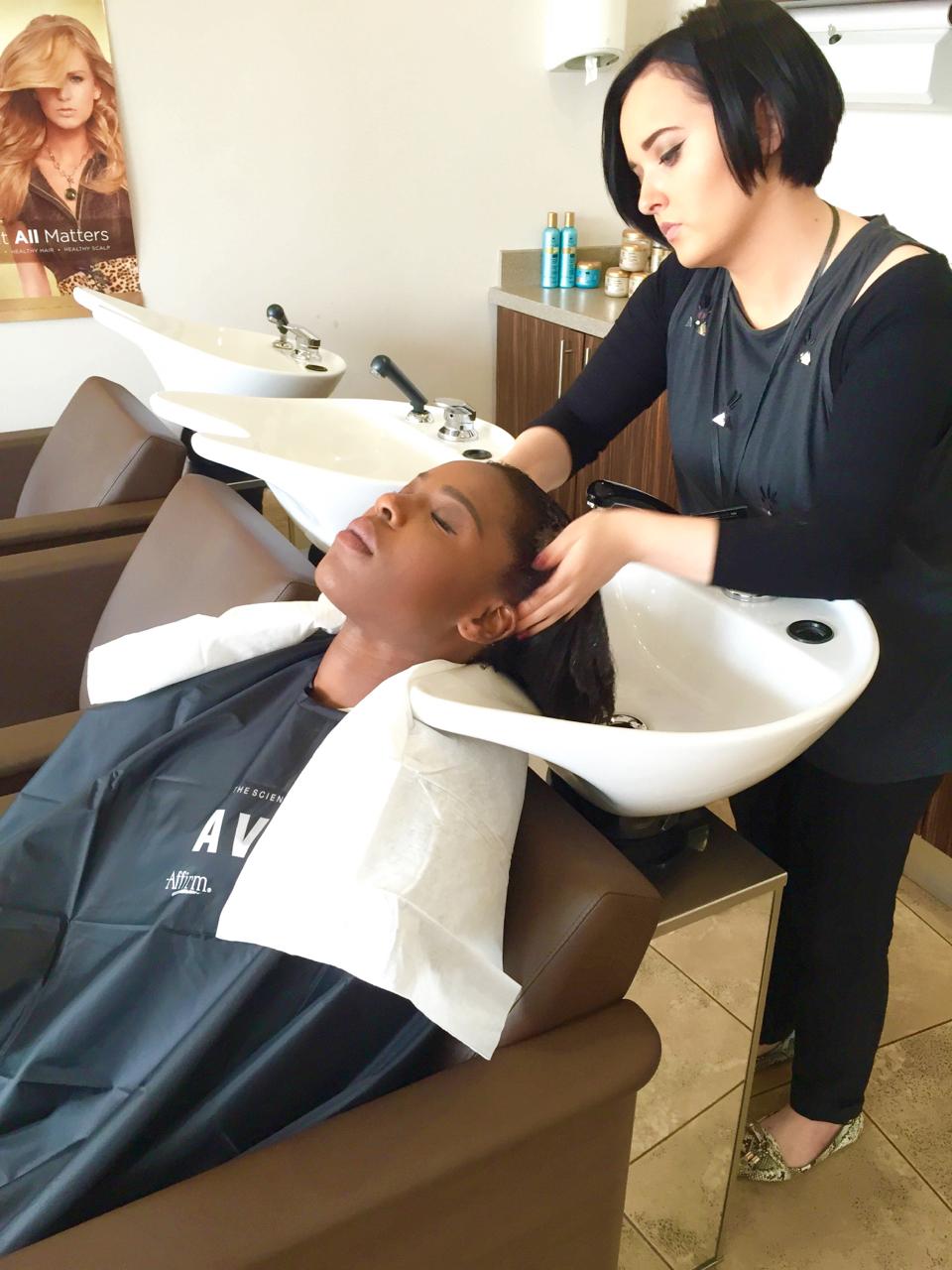 entretien des cheveux défrisés