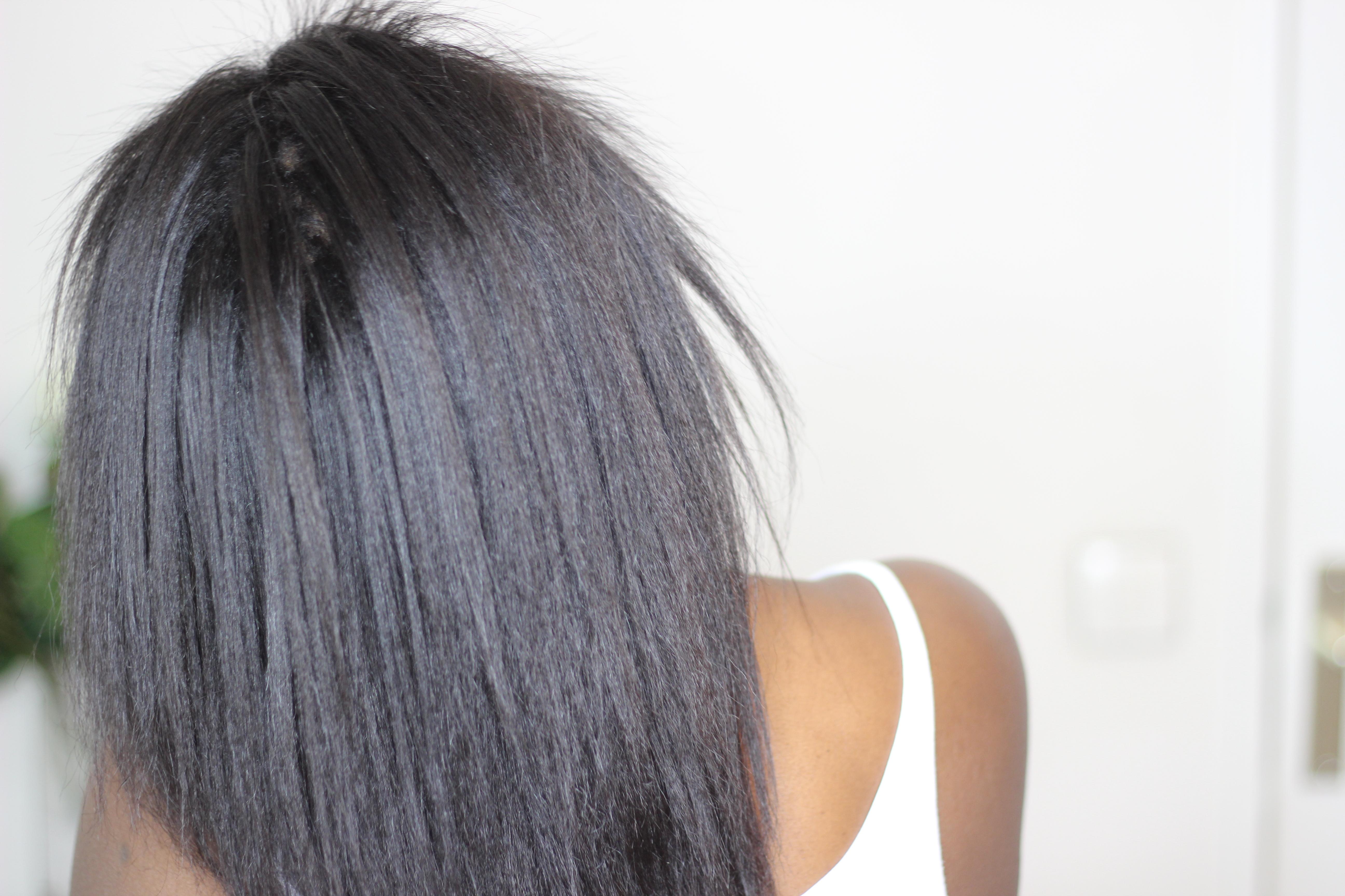 Cheveux défrisés