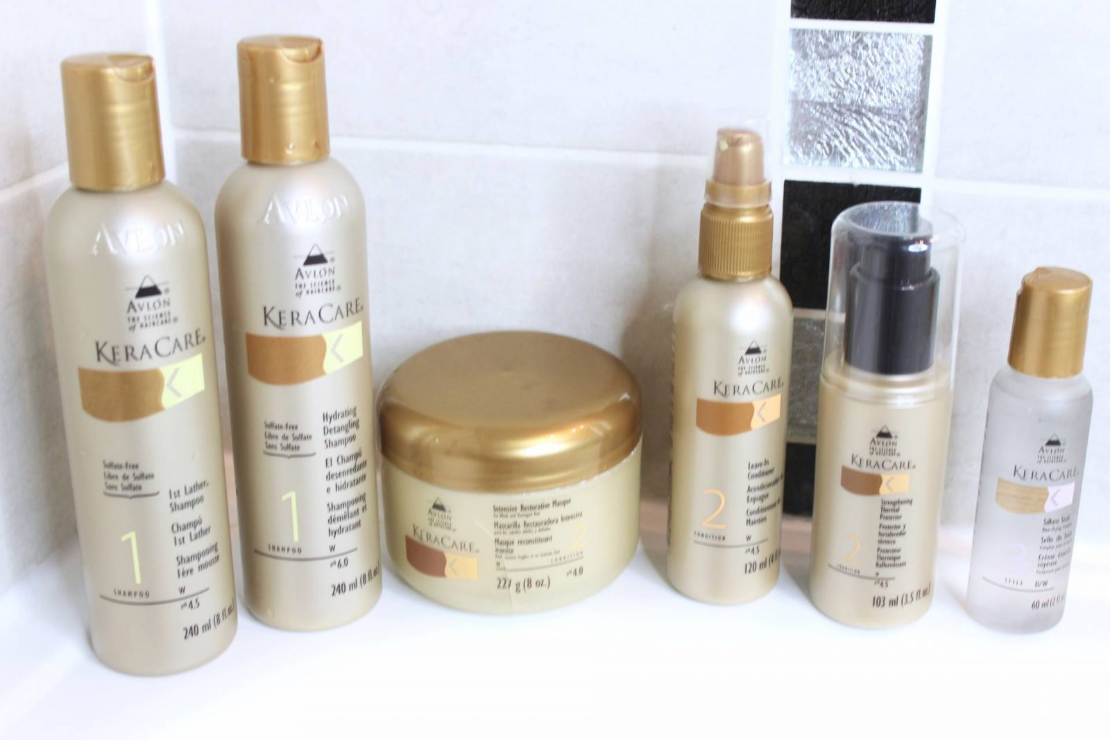 MA ROUTINE CAPILLAIRE avec KERACARE Summer Edition