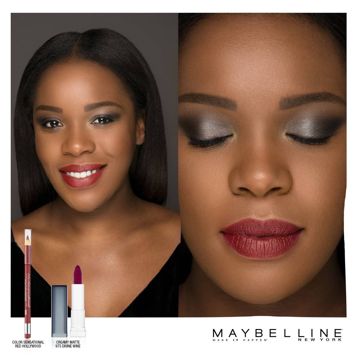 MAKE CHIC HAPPEN x MAYBELLINE NEW YORK