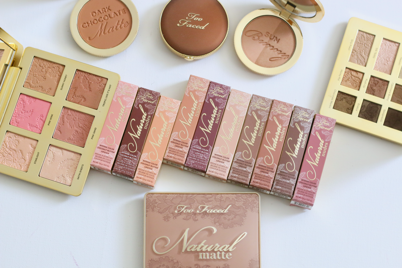 TOO FACED NATURAL NUDES COLLECTION
