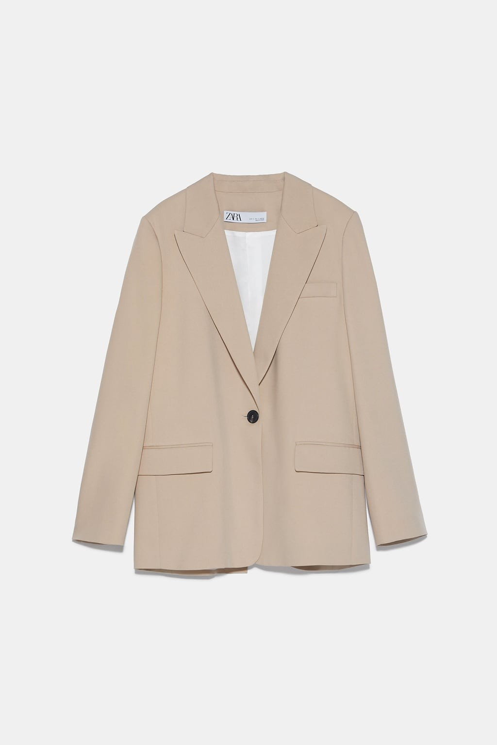 LOOSE-FITTING BUTTONED BLAZER